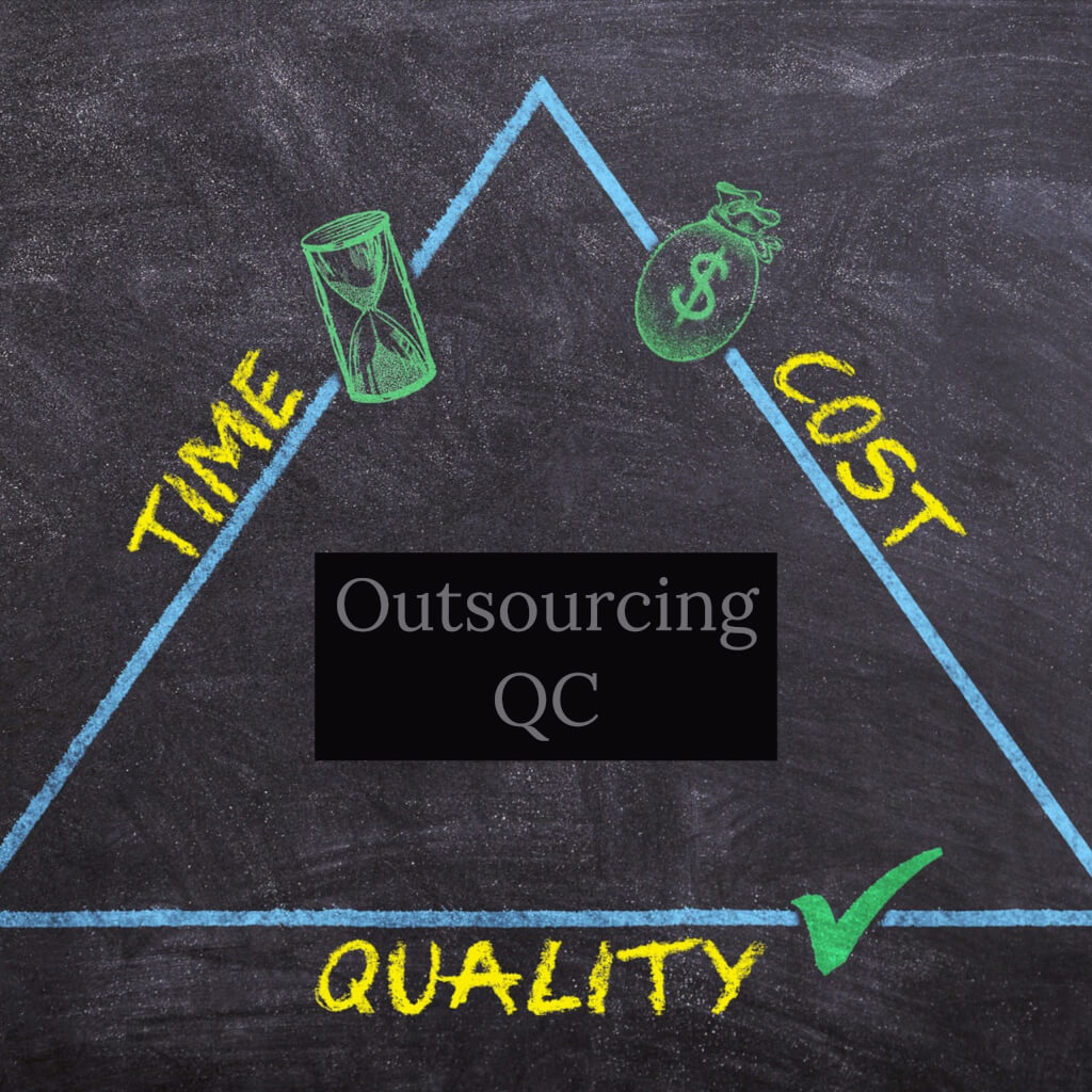 Outsourcing quality control