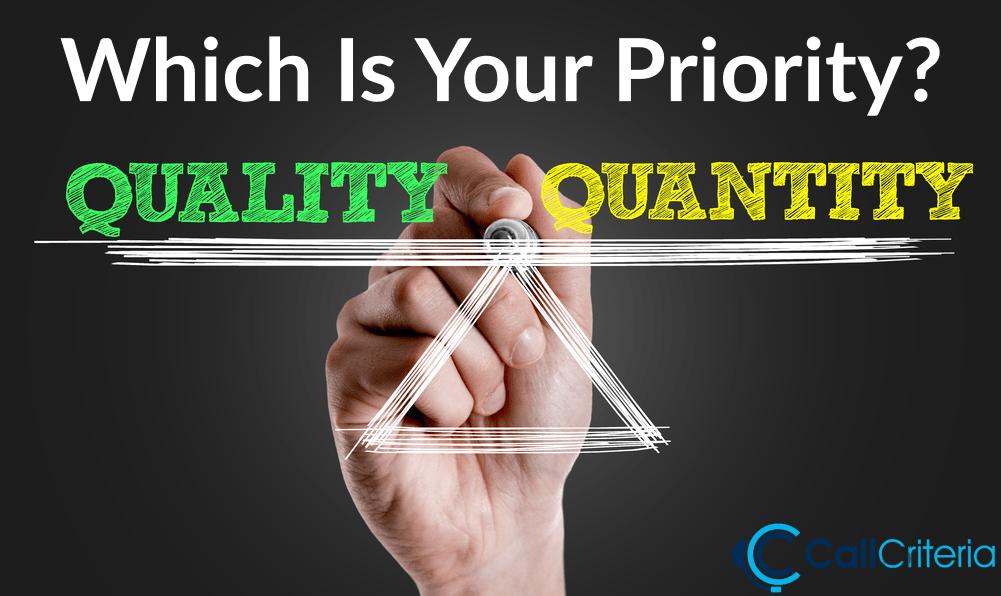 Quantity Priority