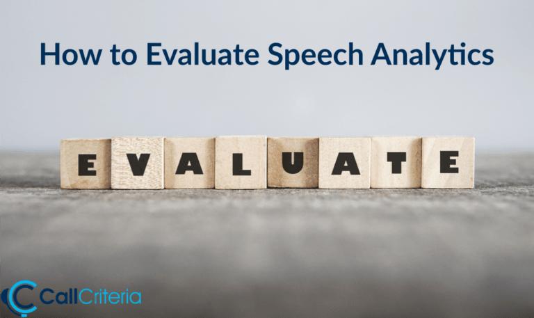 Evaluate Speech