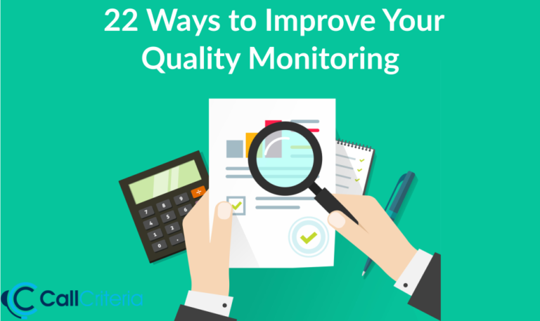 22 Ways to Improve Your Quality Monitoring