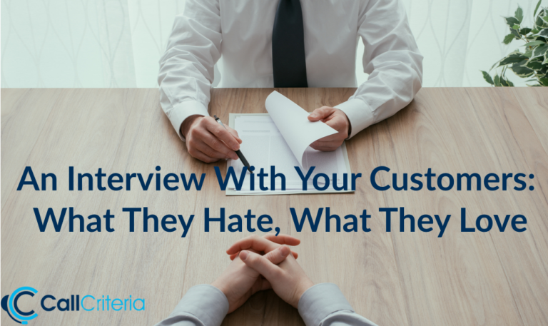 An Interview With Your Customers