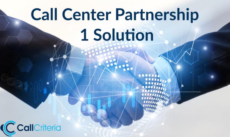 Call Center Partnership 1 Solution