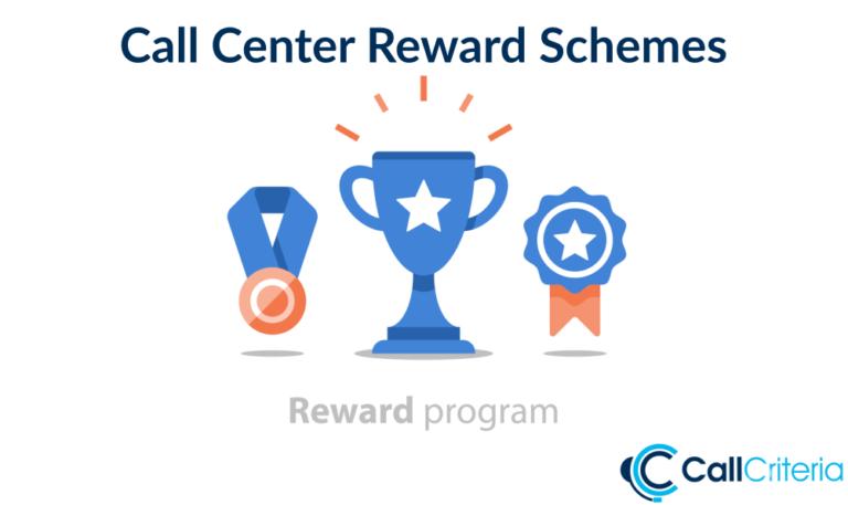 Call Center Reward Schemes