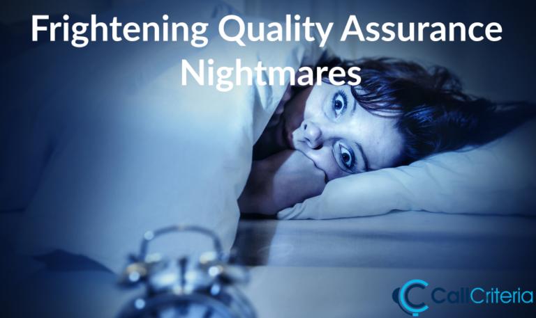 Frightening Quality Assurance Nightmares