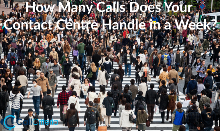 How Many Calls Does Your Contact Centre Handle in a Week