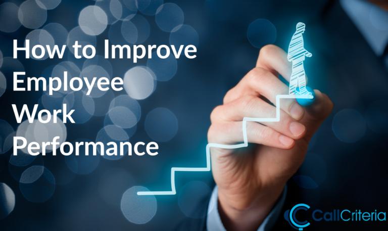 How to Improve Employee Work Performance