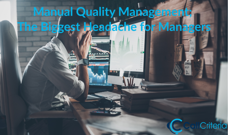 Manual Quality Management The Biggest Headache for Managers
