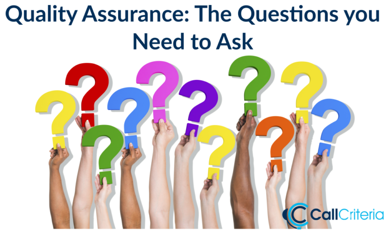 Quality Assurance: The Questions you Need to Ask