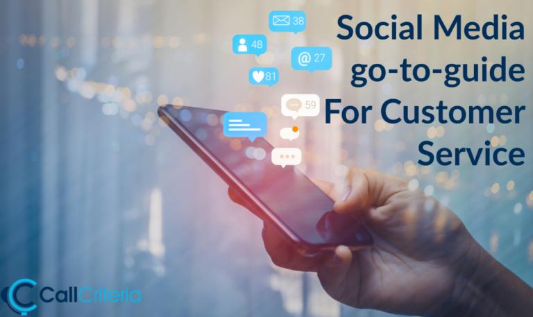 Social Media go-to-guide For Customer Service