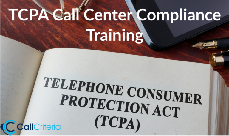 TCPA Call Center Compliance Training
