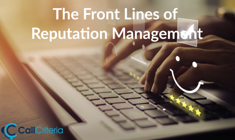 The Front Lines of Reputation Management