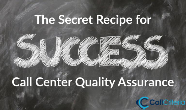 The Secret Recipe for Success