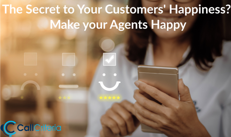 The Secret to Your Customers' Happiness? Make Your Agents Happy