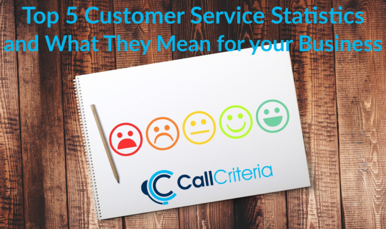 Top 5 Customer Service Statistics and What They Mean for your Business