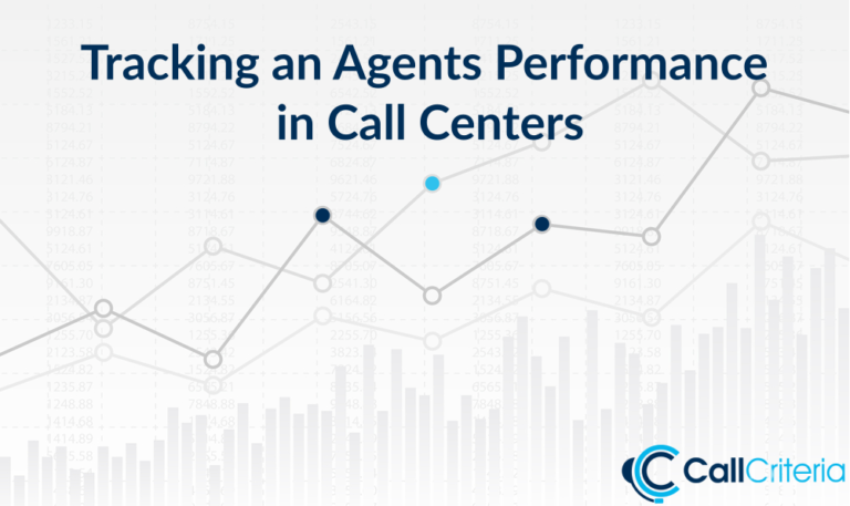 Tracking an Agents Performance in Call Centers