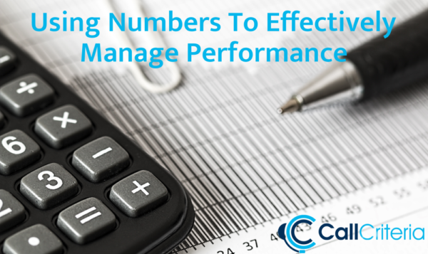 Using Numbers To Effectively Manage Performance