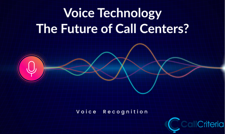 Voice Technology The Future of Call Centers
