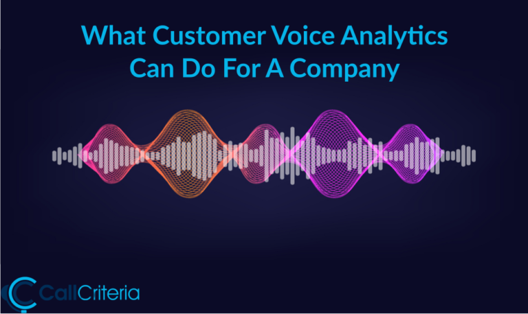 What Customer Voice Analytics Can Do For A Company